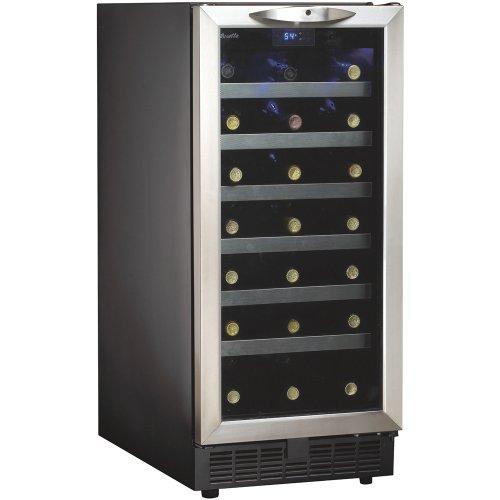 Danby-DWC1534BLS-37-Cu-Ft-34-Bottle-Silhouette-Wine-Cooler-BlackStainless-0
