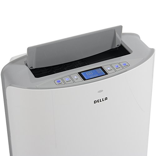 Della-14000-BTU-Evaporative-Portable-Air-Conditioner-Heater-Dehumidifier-Cooling-Function-LED-Panel-Control-0-0