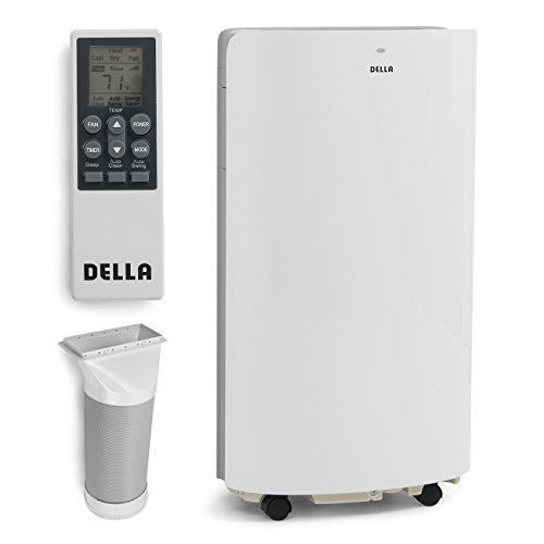Della-14000-BTU-Evaporative-Portable-Air-Conditioner-Heater-Dehumidifier-Cooling-Function-LED-Panel-Control-0