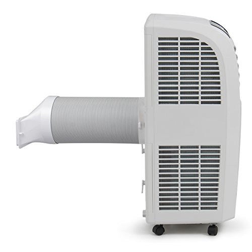 Della-8000-BTU-Portable-Air-Conditioner-Cooling-Fan-Dehumidifier-AC-Remote-Control-Window-Vent-Kit-White-0-1