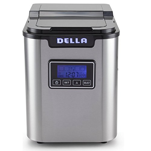 Della-Electric-Ice-Maker-Machine-Counter-top-Cube-Easy-Touch-Button-3-Color-0-0