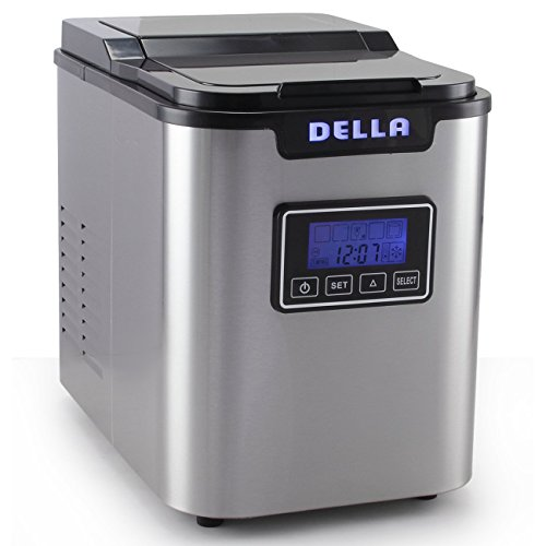 Della-Electric-Ice-Maker-Machine-Counter-top-Cube-Easy-Touch-Button-3-Color-0