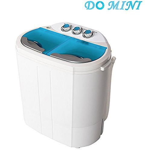 Do-mini-Portable-Compact-Twin-Tub-98Ibs-Capacity-Washing-Machine-and-Spin-Dryer-0-0