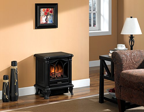 Duraflame-DFS-450-2-Carleton-Electric-Stove-with-Heater-Black-0-0