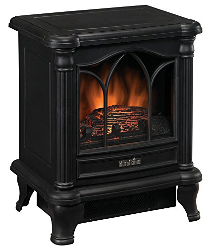 Duraflame-DFS-450-2-Carleton-Electric-Stove-with-Heater-Black-0