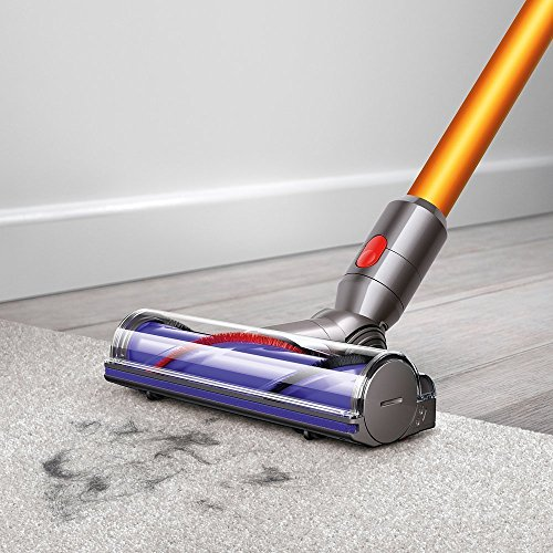 Dyson-V8-Absolute-Cordless-HEPA-Vacuum-Cleaner-Fluffy-Soft-Roller-and-Direct-Drive-Cleaner-Head-Wand-Set-Mini-Motorized-Tool-Dusting-Brush-Docking-Station-Combination-Tool-Crevice-Tool-0-0
