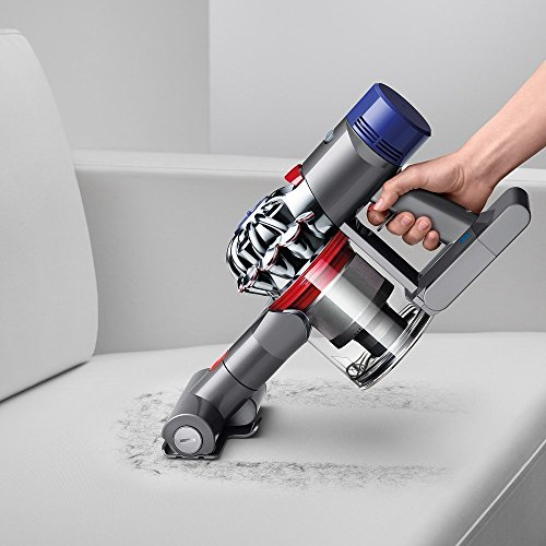 Dyson-V8-Absolute-Cordless-HEPA-Vacuum-Cleaner-Fluffy-Soft-Roller-and-Direct-Drive-Cleaner-Head-Wand-Set-Mini-Motorized-Tool-Dusting-Brush-Docking-Station-Combination-Tool-Crevice-Tool-0-2