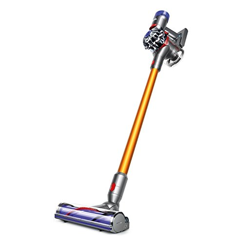Dyson-V8-Absolute-Cordless-HEPA-Vacuum-Cleaner-Fluffy-Soft-Roller-and-Direct-Drive-Cleaner-Head-Wand-Set-Mini-Motorized-Tool-Dusting-Brush-Docking-Station-Combination-Tool-Crevice-Tool-0