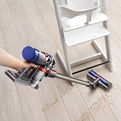 Dyson-V8-Animal-Cordless-HEPA-Vacuum-Cleaner-Direct-Drive-Cleaner-Head-Wand-Set-Mini-Motorized-Tool-Dusting-Brush-Docking-Station-Combination-Tool-Crevice-Tool-0-1