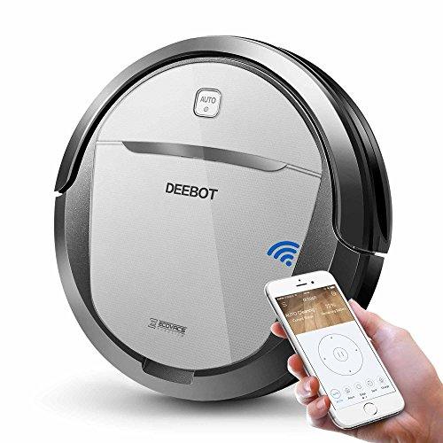 ECOVACS-DEEBOT-M80-Pro-Robotic-Vacuum-Cleaner-with-Mop-and-Water-Tank-for-Hard-Floor-Low-pile-Carpet-APP-Control-Wi-Fi-Connected-0