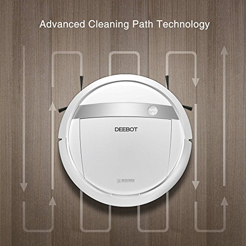 ECOVACS-DEEBOT-M88-Robotic-Vacuum-Cleaner-for-Pet-Hair-Carpet-and-Bare-Floors-with-App-Control-0-0