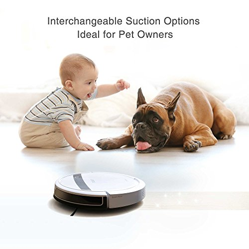 ECOVACS-DEEBOT-M88-Robotic-Vacuum-Cleaner-for-Pet-Hair-Carpet-and-Bare-Floors-with-App-Control-0-2
