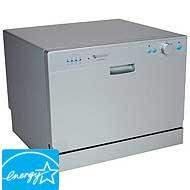 EdgeStar-Countertop-Portable-Dishwasher-for-6-Place-Settings-Silver-0