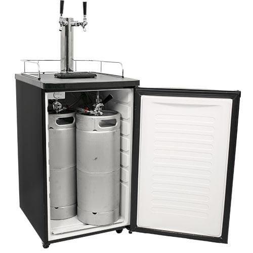 EdgeStar-Full-Size-Dual-Tap-Kegerator-Draft-Beer-Dispenser-0-0