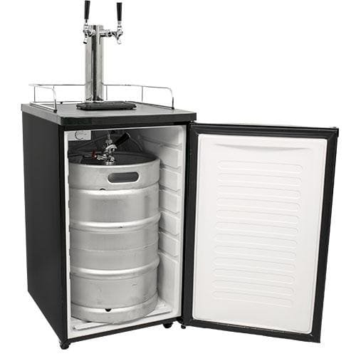 EdgeStar-Full-Size-Dual-Tap-Kegerator-Draft-Beer-Dispenser-0-1