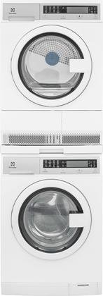 Electrolux-White-Compact-Laundry-Pair-with-EIFLS20QSW-24-Front-Load-Washer-EIED200QSW-24-Electric-Condense-Dryer-and-STACKIT24-Stacking-0