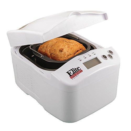 Elite Gourmet Digital Bread Maker Appliance Center