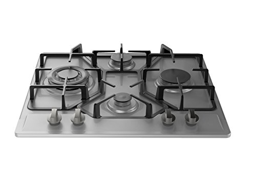 Empava-24-HQ4B67A-Stainless-Steel-Built-in-4-Burners-Stove-Gas-Hob-Fixed-Cooktop-0