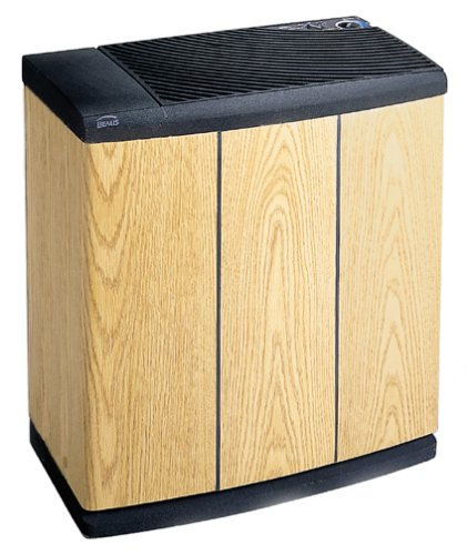 Essick-Air-H12-300-3-Speed-Evaporative-Console-Humidifier-Light-Oak-0