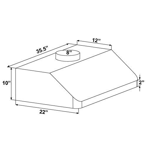 FIREBIRD-New-36-European-Style-Under-Cabinet-Stainless-Steel-Range-Hood-Vent-W-Push-Button-Control-0-0