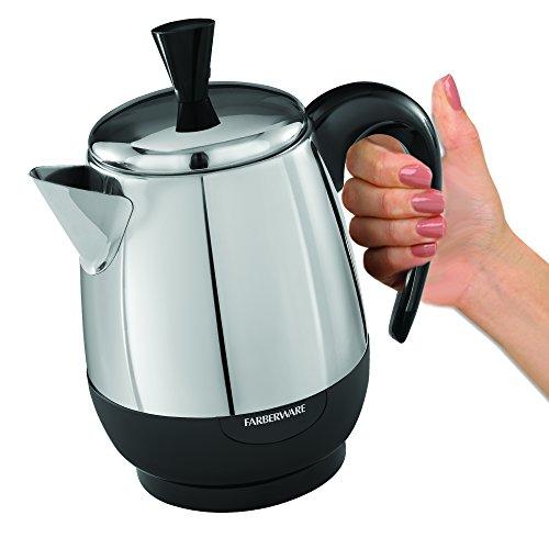 Farberware FCP412 12 Cup Percolator Stainless Steel 0 2 Farberware K Cup Single Serve Coffee Maker
