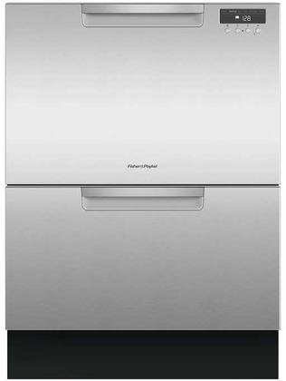 Fisher-Paykel-DD24DAX9-Double-DishDrawer-with-Recessed-Handle-in-Stainelss-0