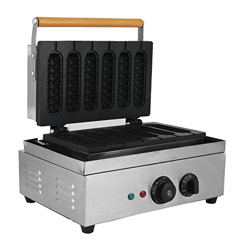 FoodKingdom-Commercial-Lolly-Waffle-Maker-Non-stick-Electric-Waffle-Machine1500W-Well-distribute-Heating-Sausage-Hot-Dog-Machine-for-Baking-Waffle-0-1