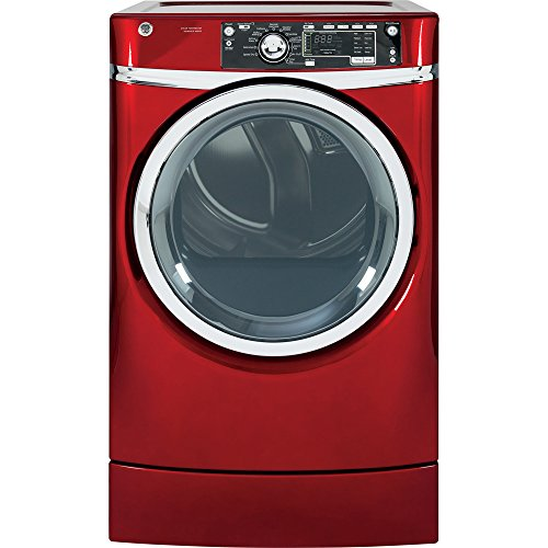 GE-GFDR485EFRR-83-Cu-Ft-Red-With-Steam-Cycle-Electric-Dryer-0