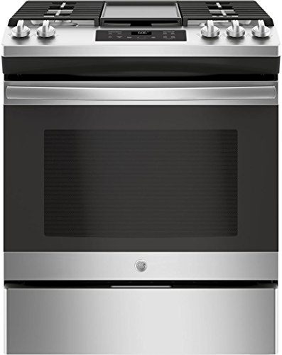 GE-JGSS66SELSS-30-Inch-Slide-in-Gas-Range-with-Sealed-Burner-Cooktop-56-cu-ft-Primary-Oven-Capacity-in-Stainless-Steel-0