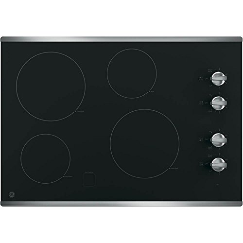 GE-JP3030SJSS-30-Electric-Cooktop-with-4-Cooking-Elements-in-Stainless-Steel-0