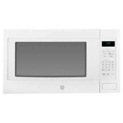 GE-PEB7226DFWW-Profile-22-Cu-Ft-White-Countertop-Microwave-0