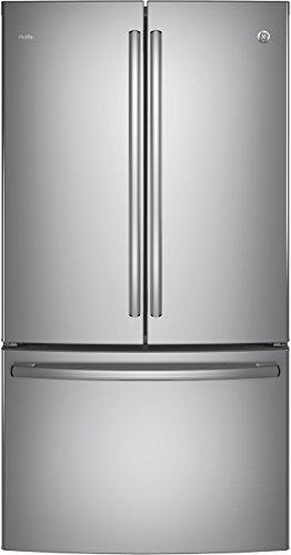 GE-Profile-PWE23KSKSS-36-Energy-Star-Counter-Depth-French-Door-Refrigerator-with-231-cu-ft-Capacity-Stainless-Steel-0