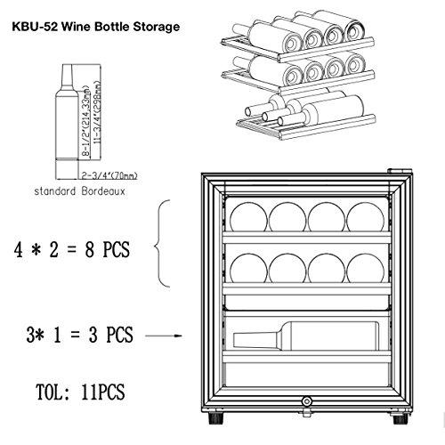 Game-Room-Mini-Wine-Refrigerator-Bar-Fridge-KingsBottle-11-Bottle-Storage-Free-Standing-compatible-Wine-Fridge-KBU52WBP-0-1