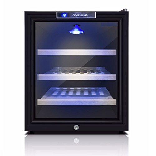 Game-Room-Mini-Wine-Refrigerator-Bar-Fridge-KingsBottle-11-Bottle-Storage-Free-Standing-compatible-Wine-Fridge-KBU52WBP-0