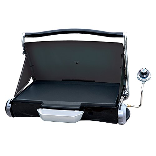 George-Foreman-GP200B-Portable-Propane-Camp-Tailgate-Grill-Portable-Gas-Grill-Camping-Grill-Black-0-0