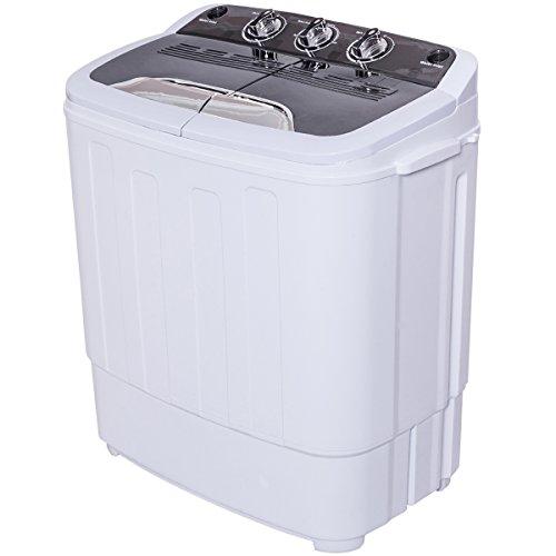 Giantex-Portable-Compact-13-Lbs-Mini-Twin-Tub-Washing-Machine-Washer-Spin-Dryer-0