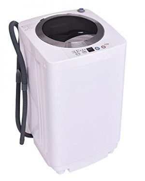 Electric Mini Washer And Spin Cycle Portable Compact