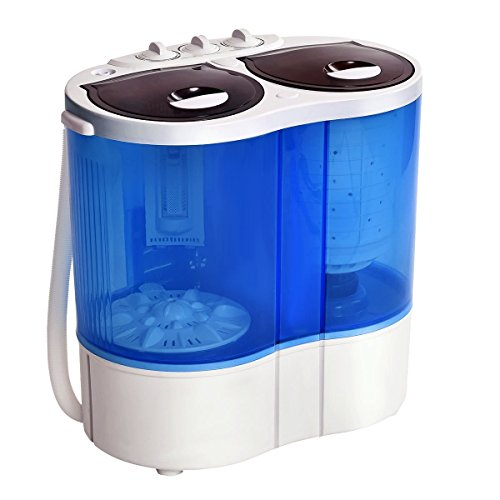Giantex-Portable-Mini-Washing-Machine-Gravity-Drain-Compact-Twin-Tub-77lb-Washer-Spin-Dryer-Furni-0