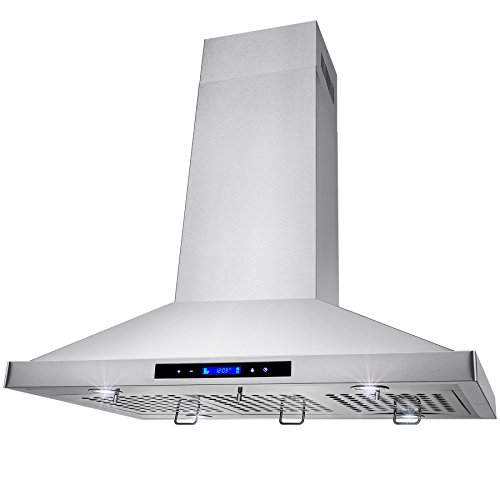 Golden-Vantage-Stainless-Steel-36-Euro-Style-Island-Mount-Range-Hood-LCD-Screen-GV-GL-9002-36-0-2