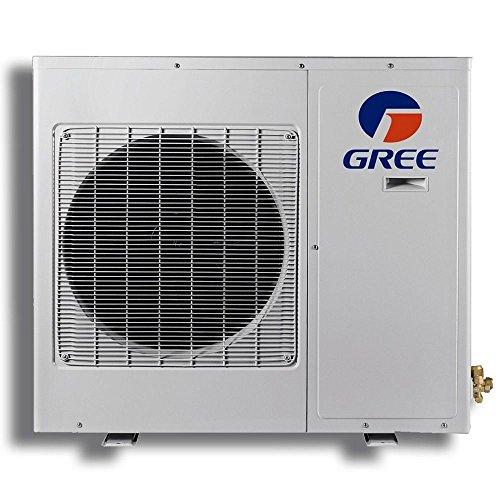 Gree-TERRA09230-141215-9000-BTU-27-SEER-Wall-Mount-Mini-Split-Air-Conditioner-Heat-Pump-208-230V-15-Line-Set-0-0