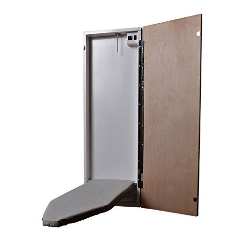 HANDi-PRESS-EL-42-1000-Electric-Built-In-Ironing-Board-Maple-Door-0