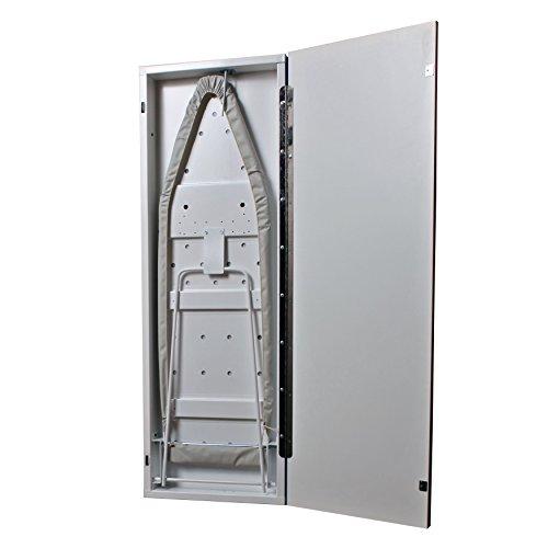 HANDi-PRESS-NE-40-1000-Non-Electric-Built-In-Ironing-Board-White-Door-0-0