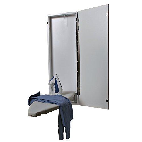 HANDi-PRESS-NE-40-1000-Non-Electric-Built-In-Ironing-Board-White-Door-0