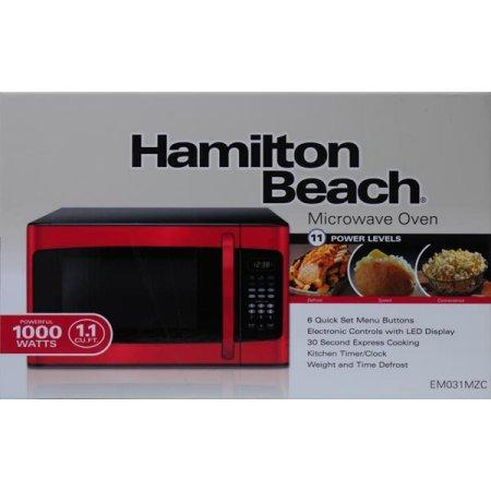 Hamilton Beach 1 1 Cu Ft 10 Power Levels Led Display