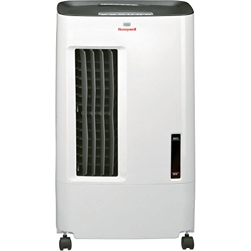 Honeywell-CSO71AE-176-CFM-Indoor-Evaporative-Air-Cooler-Swamp-Cooler-with-Remote-Control-in-WhiteGray-0