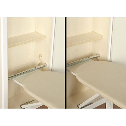 household essentials stowaway in wall ironing board