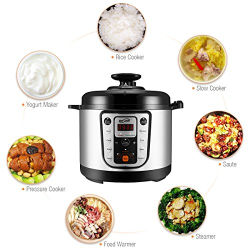 Housmile-7-in-1-Multi-Use-Programmable-Pressure-Cooker-6-Quart-1000W-0-2