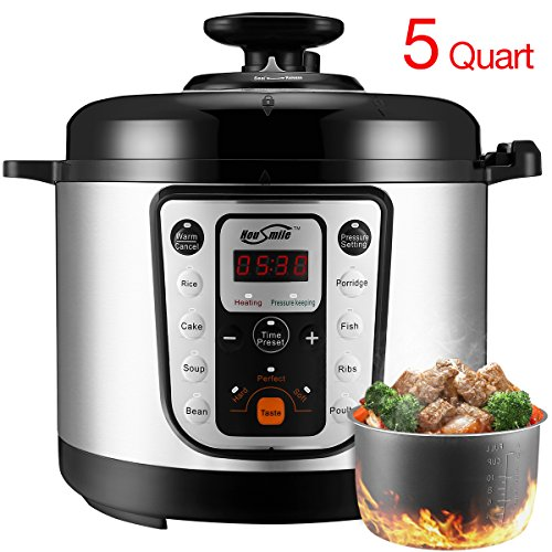 Housmile-7-in-1-Multi-Use-Programmable-Pressure-Cooker-6-Quart-1000W-0