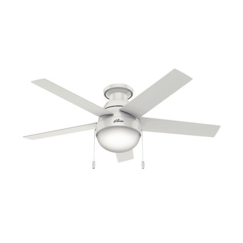 Hunter-Anslee-Low-Profile-46-Ceiling-Fan-5-Reversible-Blades-and-Light-Kit-In-0