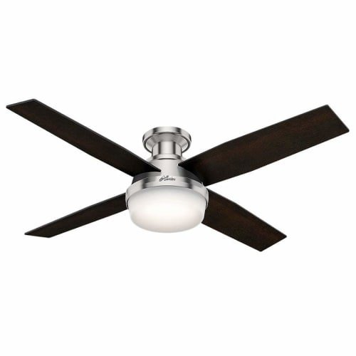 Hunter-DEMPSEY-52-LED-LOW-PROFILE-52-Indoor-Ceiling-Fan-4-Reversible-Blades-w-0-0
